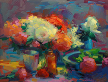 Deposit 2017 February 6-10 Color Intensive Workshop In Still Life @ Patris Studio