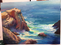 2017 July 14-16 3-Day Plein Air Carmel, California Workshop